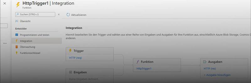 Всілякі автоматизовані дії для функцій Azure можна визначити за допомогою тригера http.